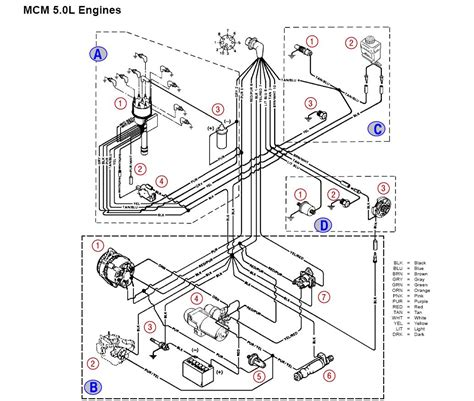 Mercruiser Ignition Coil Wiring Diagram by Diagram 3 0 Mercruiser Wiring Diagram Version Hd