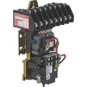 square d lighting magnetic contactor 120vac coil volts contactor type mechanically held