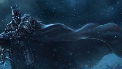 Lich Cloak Warcraft Sword Cold Snow King
