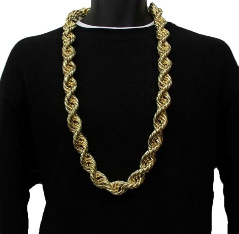 14k gold plated necklace chain 36 quot inch length big