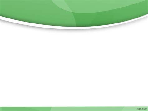 green modern powerpoint template