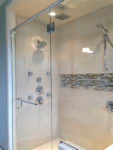 Shower Niche with Mosaic Tile