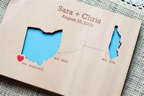 map inspired weddings travel themed wedding invitations and paper from Etsy custom guest book
