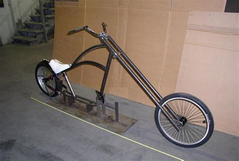 Custom Chopper Bicycle In The Works...