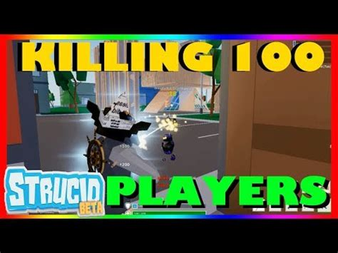 killing  players  strucid beta  roblox youtube