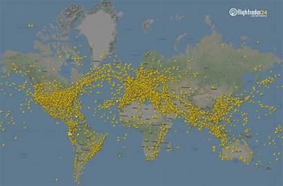 March Flightradar24 Drop Traffic Around Below Nearly