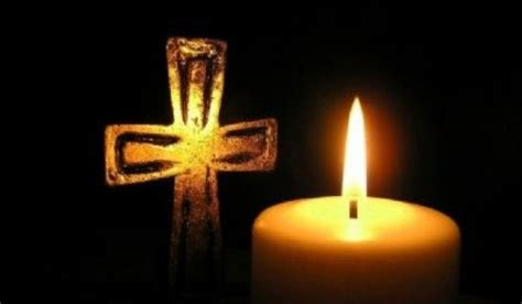 rest peace candle rose trinity evangelical lutheran church