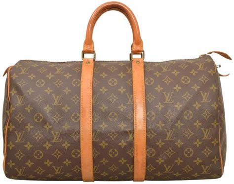 louis vuitton keepall  carry  duffle luggage