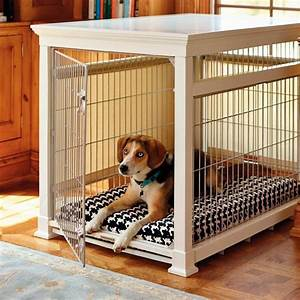 luxury white pet residence dog crate frontgate With luxury dog cages