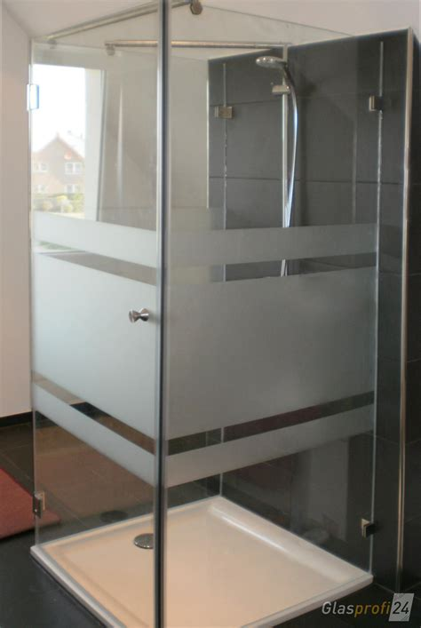 dusche u form duschkabine u form aus glas glasprofi24