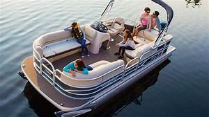 SUN TRACKER Boats: 2016 PARTY BARGE 20 DLX Recreational ...