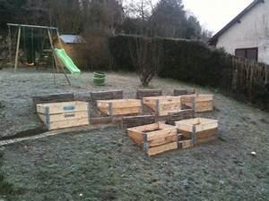 Carres de potager en pente jardin pinterest for Amenager jardin en pente 8 comment fabriquer un poulailler en bois pour le jardin