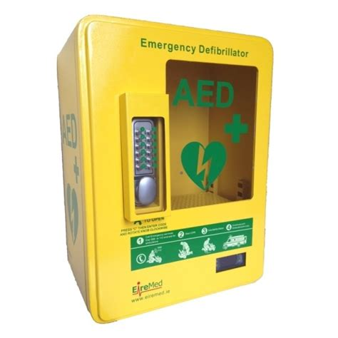 Defibrillator Cabinet by Outdoor Heated Aed Cabinet Eiremed