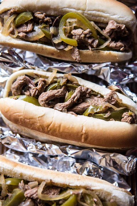 You'll need two of these packages to make this delicious slow cooker philly cheesesteak recipe. Crockpot Philly Cheesesteaks. - Half Baked Harvest