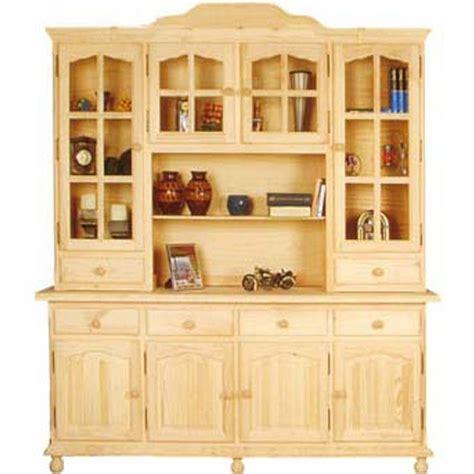 alacena de  cuerpos  vitrinas madera pino en  muebles aparador cocina  muebles rusticos