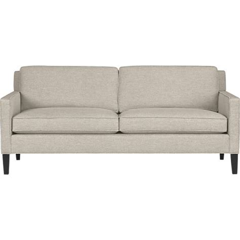 Crate And Barrel Apartment Sofa by Vaughn Apartment Sofa In Sofas Crate And Barrel