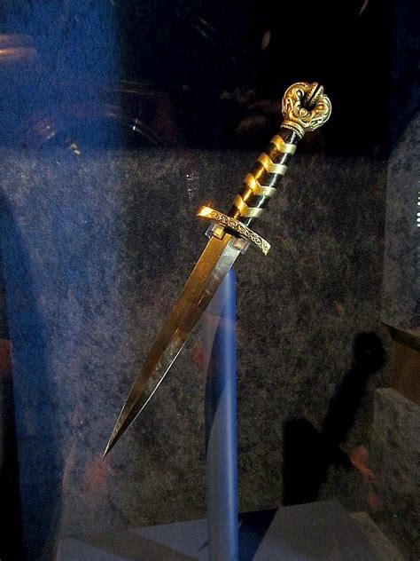 Slightly Better Contrasted Photo Of Lokis Dagger From