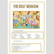 The Kids´bedroom Worksheet  Free Esl Printable Worksheets Made By Teachers