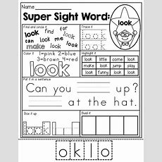 Sight Word Practice! 7 Different Ways To Practice Each Sight Word Perfect For Learning Those