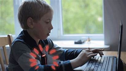 Kid Posture Electronic Computer Monolith Aid Slouching