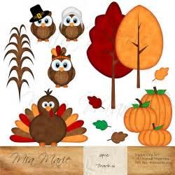 Thanksgiving Owl Clip Art