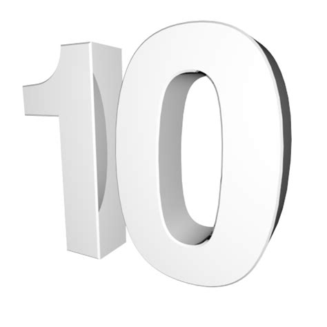 ten clipart png number 10 character clipart black and white clipground