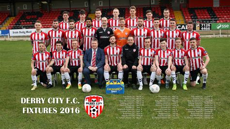 desktop wallpaper  derry city football club