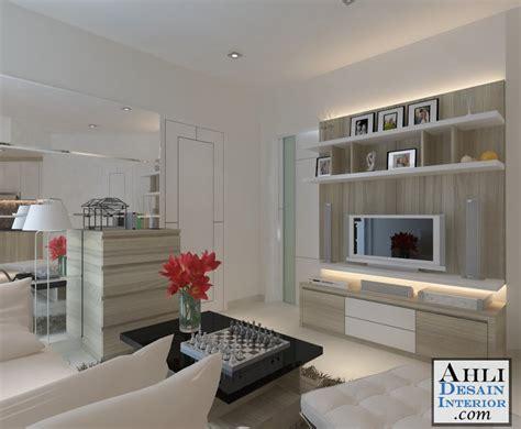desain interior apartemen mediterania kelapa gading