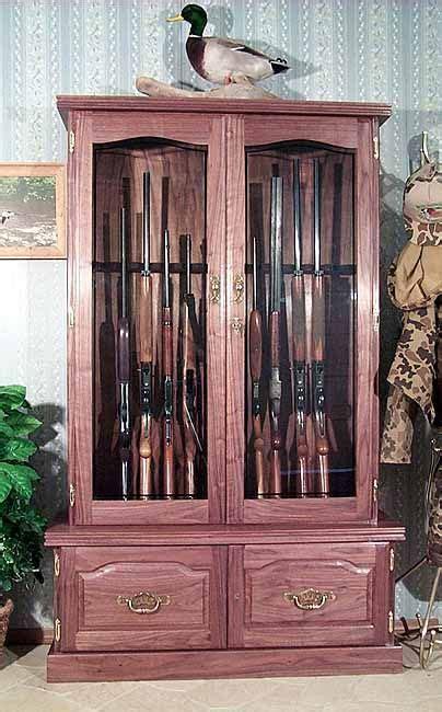 easy gun cabinet plans  diy woodwork making plans
