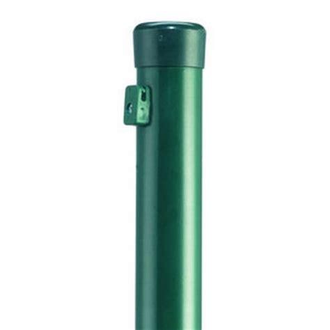 Zaunpfosten Für Maschendrahtzaun Grün, 4,20