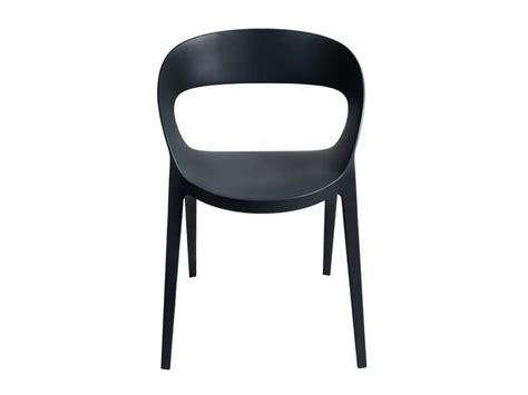 plastic outdoor furniture modern chair in plastic reinforced for courtyard and bar Modern