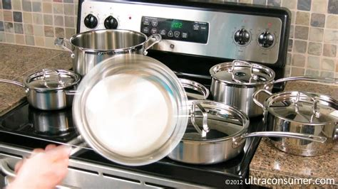 cuisinart multiclad pro cookware mcp  review youtube