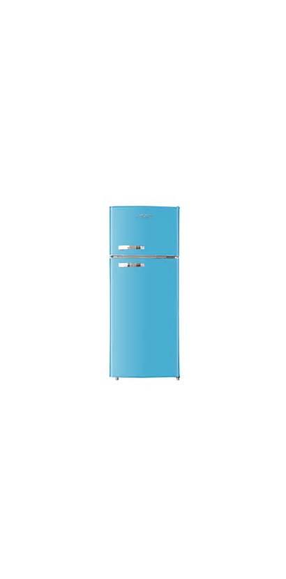 Refrigerator Apartment Retro Freezer Cu Ft Rca