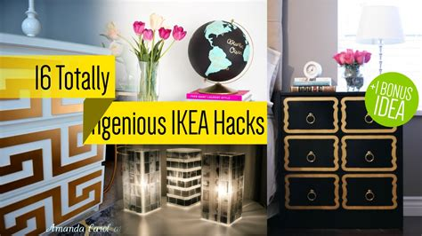 ikea furniture makeover youtube