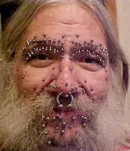Wierd examples of Body Face Piercing