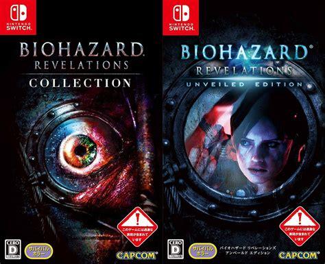 Resident Evil For Switch Desvelado El Enorme Tama 241 O De Resident Evil Revelations 1