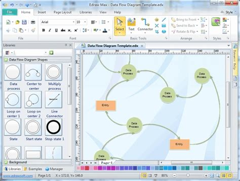 Best Data Flow Diagram Software Free Download For