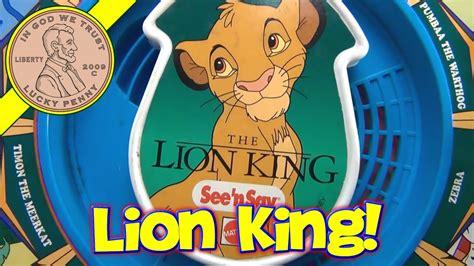 disney mattel  lion king    animal sounds