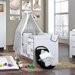 öko Möbel Baby : 5 tlg babybettset blossom in weiss und grau baby m bel ~ Michelbontemps.com Haus und Dekorationen