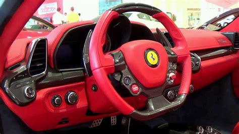 458 Spider Interior by 458 Spider Awesome Colors And Interior