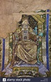 King Rudolf I of Germany depicted in the mosaic designed ...