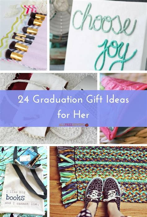 24 Graduation Gift Ideas for Her   AllFreeSewing.com