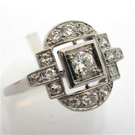 bague deco ancienne bague ancienne platine diamants 536 bijou d 233 co bijoux anciens or