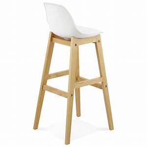 Tabouret De Bar En Cuir : tabouret chaise de bar design scandinave florence en ~ Dailycaller-alerts.com Idées de Décoration