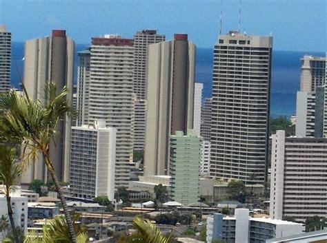 honolulu skyline photo