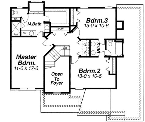 open  traditional  architectural designs house plans