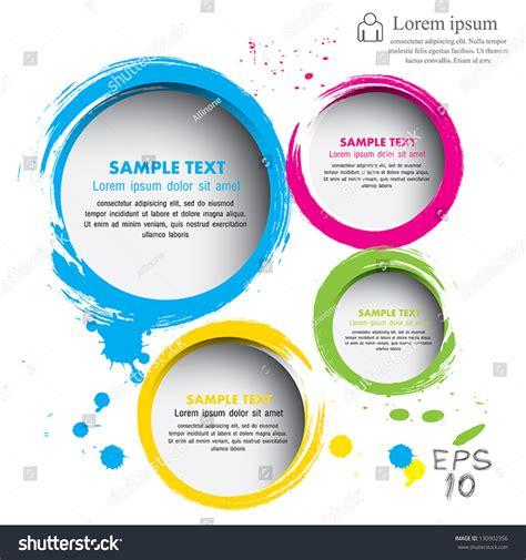 modern circle vector illustration   stock vector