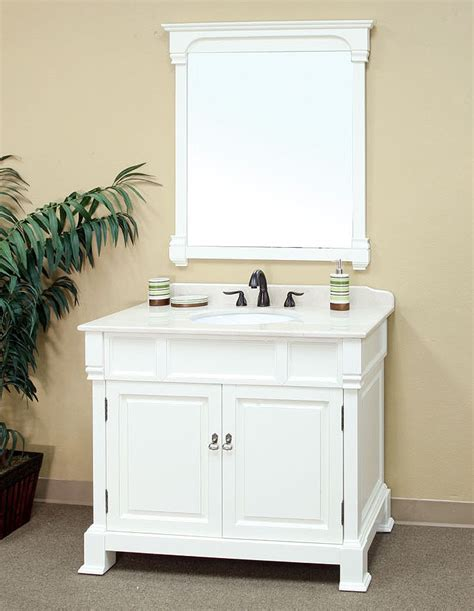 white bathroom vanity bellaterra home 205042 a white bathroom vanity antique