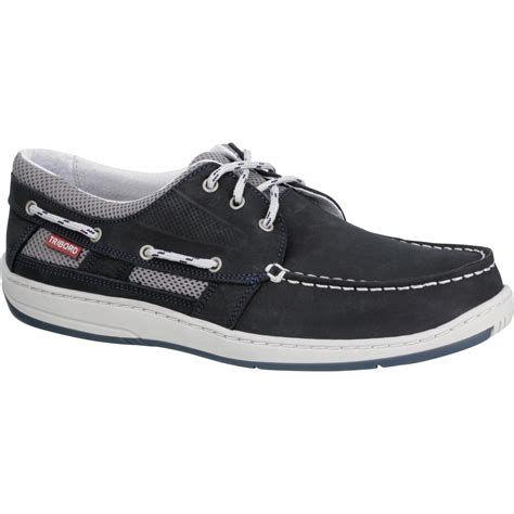 Boat Shoes Navy Blue by Clipper S Leather Boat Shoes Navy Blue Tribord