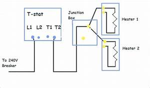 Wiring Diagram For 220 Volt Baseboard Heater